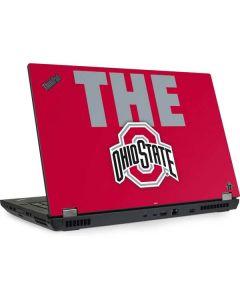 OSU The Ohio State Buckeyes Lenovo ThinkPad Skin