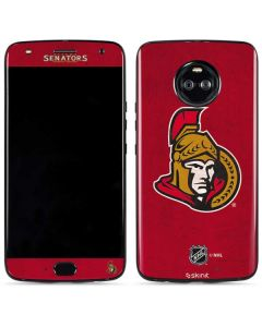 Ottawa Senators Distressed Moto X4 Skin