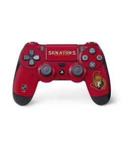 Ottawa Senators Distressed PS4 Controller Skin