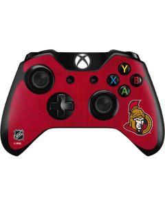 Ottawa Senators Distressed Xbox One Controller Skin