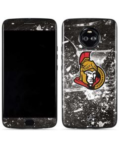 Ottawa Senators Frozen Moto X4 Skin