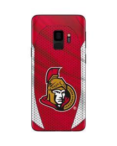 Ottawa Senators Home Jersey Galaxy S9 Skin