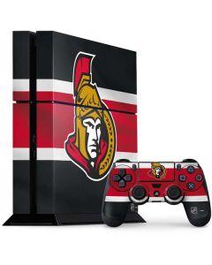 Ottawa Senators Jersey PS4 Console and Controller Bundle Skin