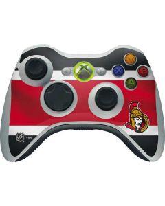 Ottawa Senators Jersey Xbox 360 Wireless Controller Skin