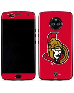 Ottawa Senators Solid Background Moto X4 Skin