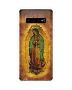 Our Lady of Guadalupe Mosaic Galaxy S10 Plus Skin