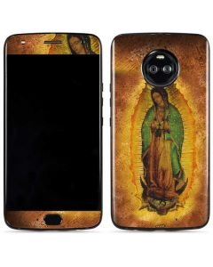 Our Lady of Guadalupe Mosaic Moto X4 Skin
