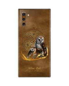 Owl Celtic Knot Galaxy Note 10 Skin