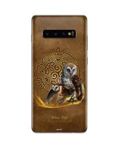 Owl Celtic Knot Galaxy S10 Plus Skin
