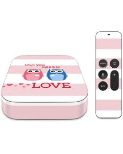 Owl Is All You Need Apple TV Skin