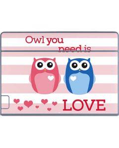 Owl Is All You Need Galaxy Book Keyboard Folio 12in Skin