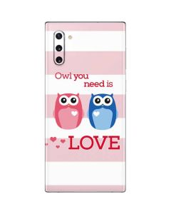 Owl Is All You Need Galaxy Note 10 Skin