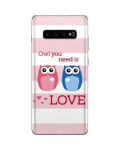 Owl Is All You Need Galaxy S10 Plus Skin