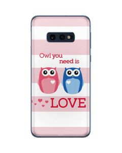 Owl Is All You Need Galaxy S10e Skin