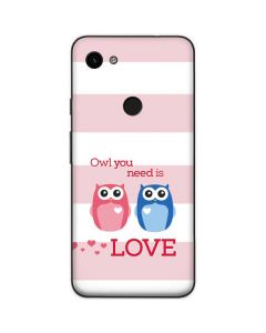 Owl Is All You Need Google Pixel 3a Skin