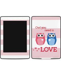 Owl Is All You Need Amazon Kindle Skin