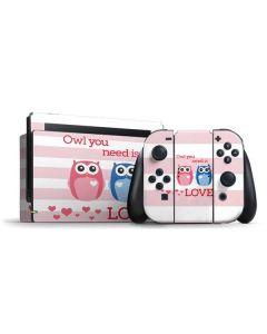Owl Is All You Need Nintendo Switch Bundle Skin