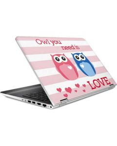 Owl Is All You Need HP Pavilion Skin