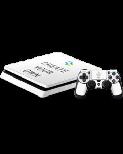 Custom PS4 Slim Bundle Skin