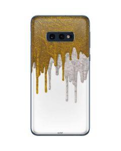 Paint Splatter Gold Galaxy S10e Skin