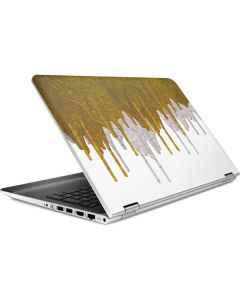 Paint Splatter Gold HP Pavilion Skin