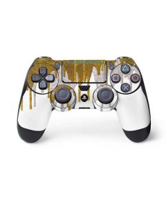 Paint Splatter Gold PS4 Pro/Slim Controller Skin