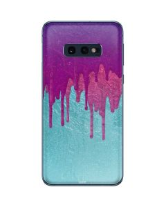 Paint Splatter Purple Galaxy S10e Skin