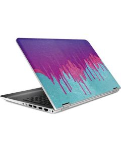 Paint Splatter Purple HP Pavilion Skin