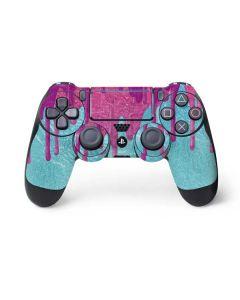 Paint Splatter Purple PS4 Pro/Slim Controller Skin