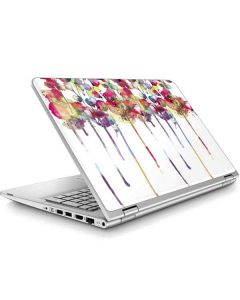 Painted Flowers ENVY x360 15t-w200 Touch Convertible Laptop Skin