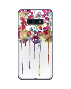 Painted Flowers Galaxy S10e Skin