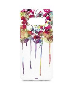 Painted Flowers Galaxy S8 Plus Lite Case