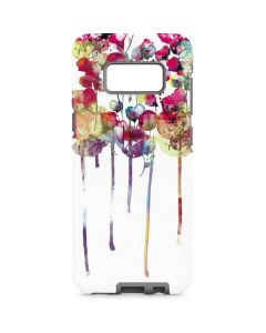 Painted Flowers Galaxy S8 Pro Case