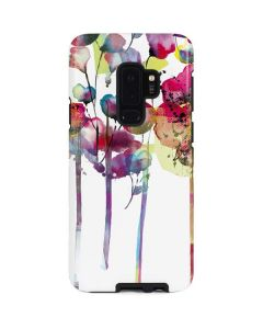 Painted Flowers Galaxy S9 Plus Pro Case