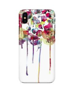 Painted Flowers iPhone X Lite Case