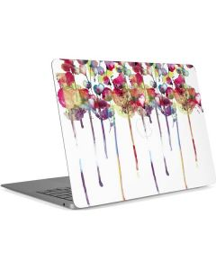 Painted Flowers Apple MacBook Air Skin