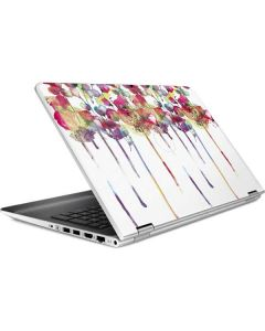 Painted Flowers HP Pavilion Skin