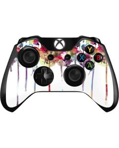 Painted Flowers Xbox One Controller Skin