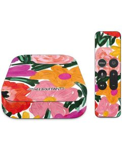 Painterly Garden Apple TV Skin