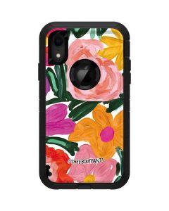 Painterly Garden Otterbox Defender iPhone Skin