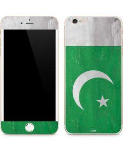 Pakistan Flag Distressed iPhone 6/6s Plus Skin