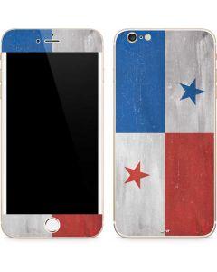 Panama Flag Distressed iPhone 6/6s Plus Skin