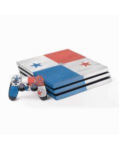 Panama Flag Distressed PS4 Pro Bundle Skin