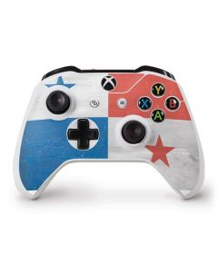 Panama Flag Distressed Xbox One S Controller Skin