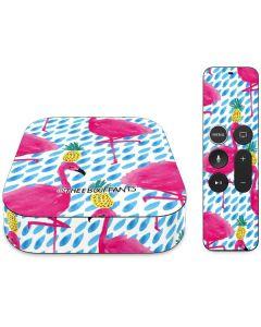 Party Flamingos Apple TV Skin