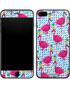 Party Flamingos iPhone 8 Plus Skin