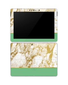Pastel Marble Surface Go Skin