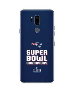 Patriots Super Bowl LIII Champions G7 ThinQ Skin
