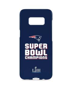 Patriots Super Bowl LIII Champions Galaxy S8 Plus Lite Case