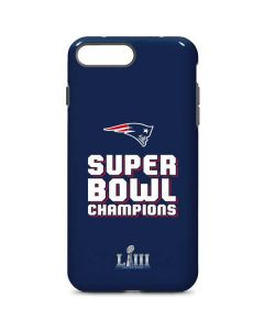 Patriots Super Bowl LIII Champions iPhone 8 Plus Pro Case